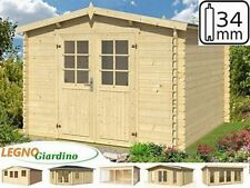 Casetta Legno 300x300 Abete Nordico gazebo 34mm box