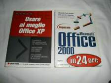 2 Libri: Imparare Ms Office 2000 24h e Usare al meglio Office XP