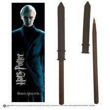 Noble Collections Harry Potter Draco Malfoy Wand Pen And Bookmark Penn
