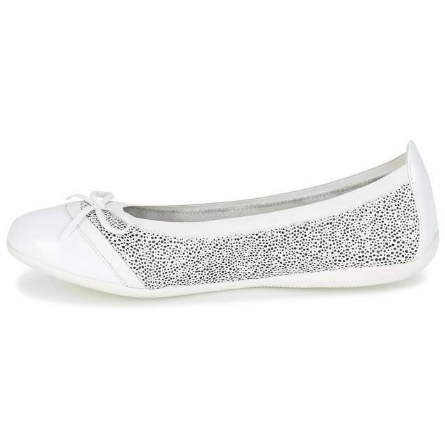 Ballerine Donna LPB Shoes CAPRICE Bianco 4