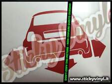 Adesivi Auto Down&Out Tuning Stickers Decals Car