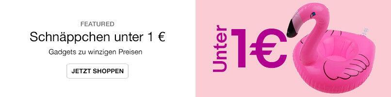 Schnäppchen unter 1 €
