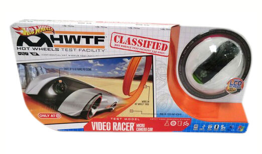 Hot Wheels USB Micro Video Racer