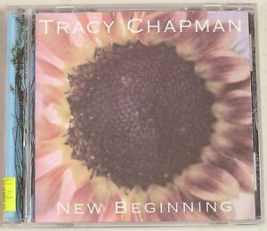 New-Beginning-by-Tracy-Chapman-CD-1995-Elektra-Label-No-Artwork