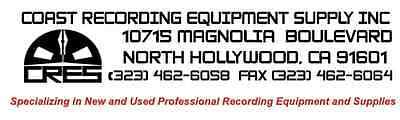 Coast Recording Equipment Supply