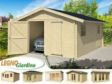 Casetta Garage Legno 540x300 Abete Nordico SP.34mm