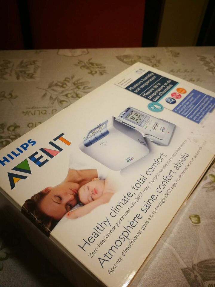 Philips AVENT SCD535/00 - Audio baby monitor Dect ricaricabile