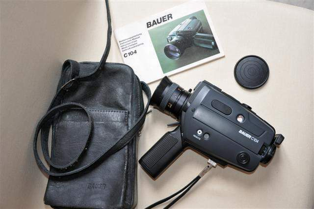 Cinepresa Super 8 Bauer C104