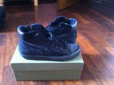 Sneakers leather crown nere