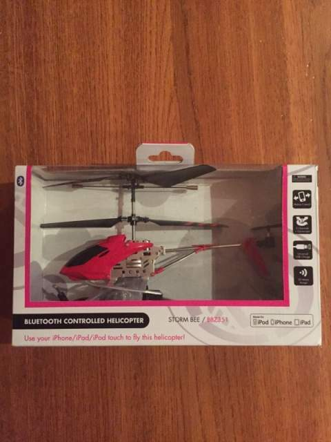 Bluetooth controlled helicopter per iPod iPhone iPad 3