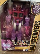 Robot Transformers Cyberverse Ultimate Shockwave nuovo