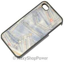 Diesel custodia originale hard cover per apple iphone 4 4s denim
