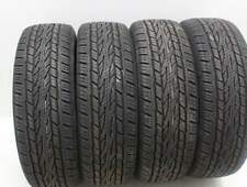 Kit di 4 gomme usate 225/55/18 Continental