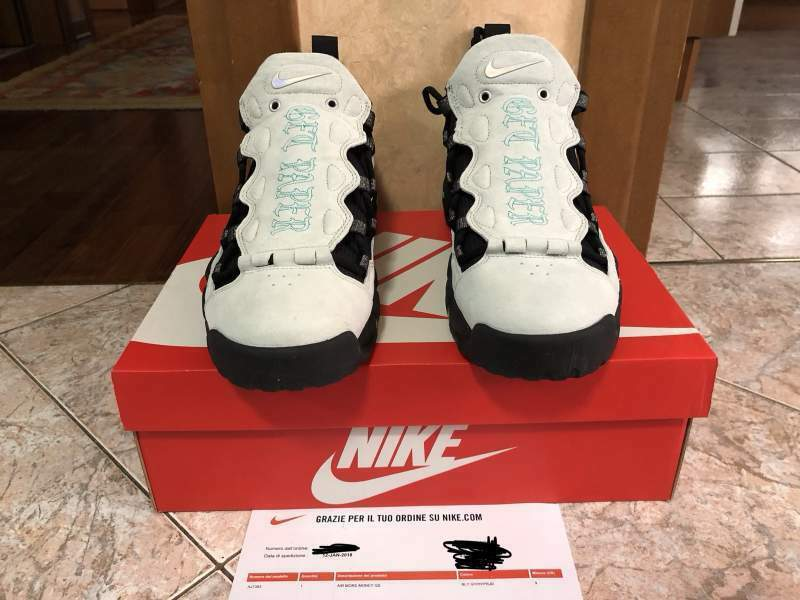 Nike Sneakers More Money QS MO' POUNDS Nuove