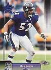 Rookie Single Ray Lewis Football Trading Cards