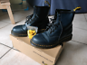 Dr Martens blu navy come nuove