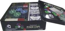 Set kit cofanetto poker texas holdem 100 fiches chips set professional