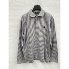 Polo bambino fred perry a righe gr/blu