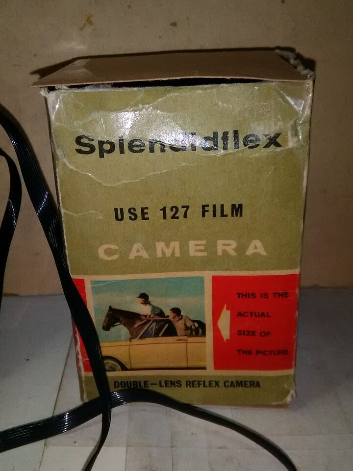 Machina fotografica 1961 con scatolo splendiflex 2