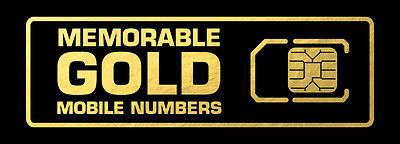 Memorable Gold Mobile Numbers