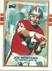 Topps Joe Montana Football Trading Cards
