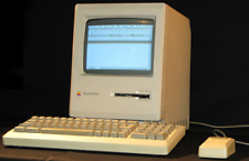 Apple Macintosh Plus funzionante con accessori originali