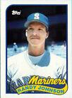 Topps Rookie Randy Johnson Seattle Mariners Baseball Cards