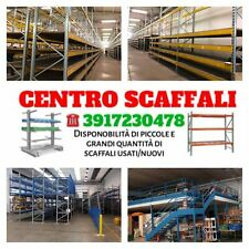 Scaffali porta pallet lotto stock