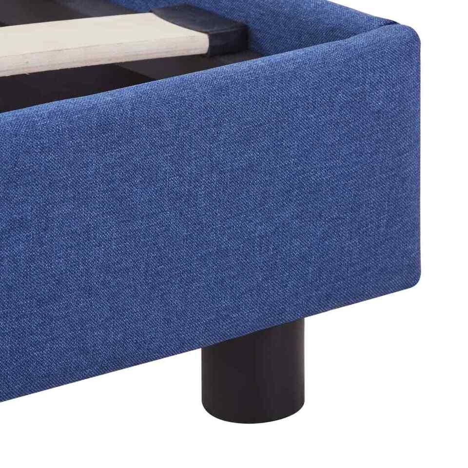 Giroletto Blu in Tessuto 160x200 cm 6