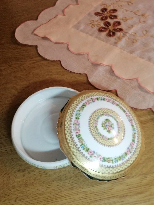 Portagioie in porcellana limonges 7
