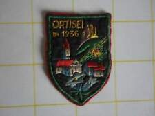 Toppa scudetto patch vintage ortisei pbpb
