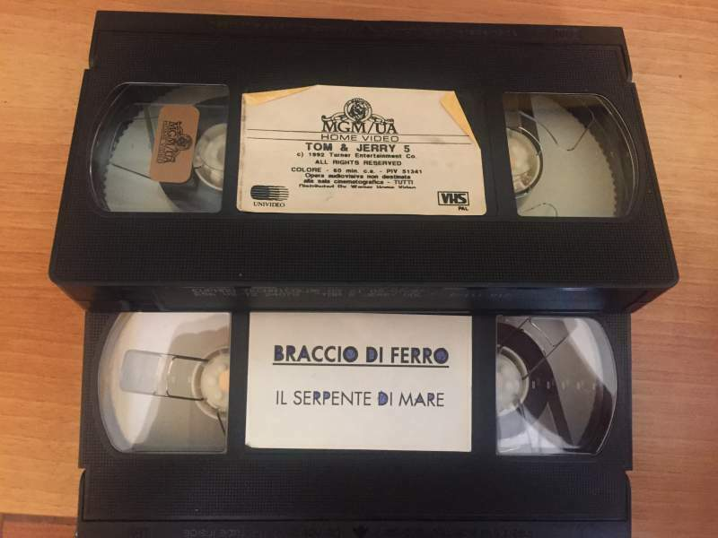Videocassette VHS Disney, Harry Potter e altri 7