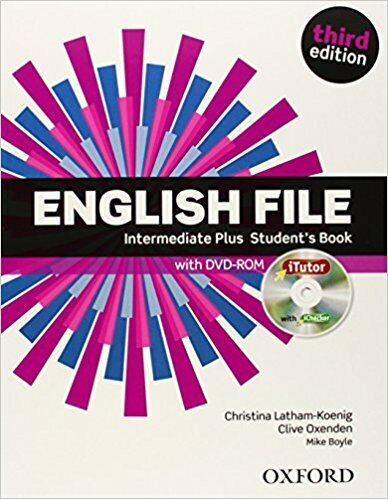 English File Third Edition Intermediate Plus with key SB+WB