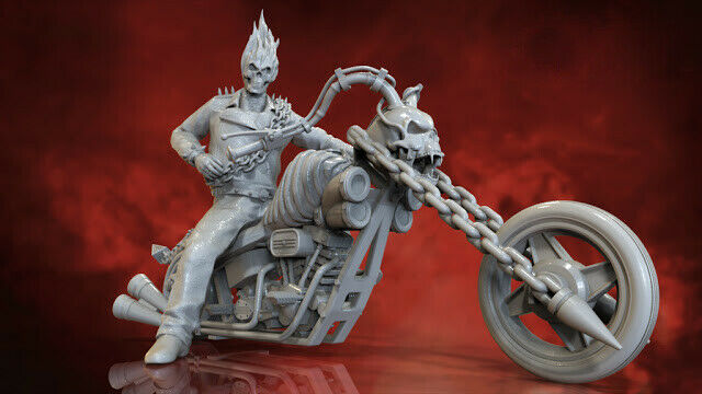 Ghost rider model kit stampa 3d