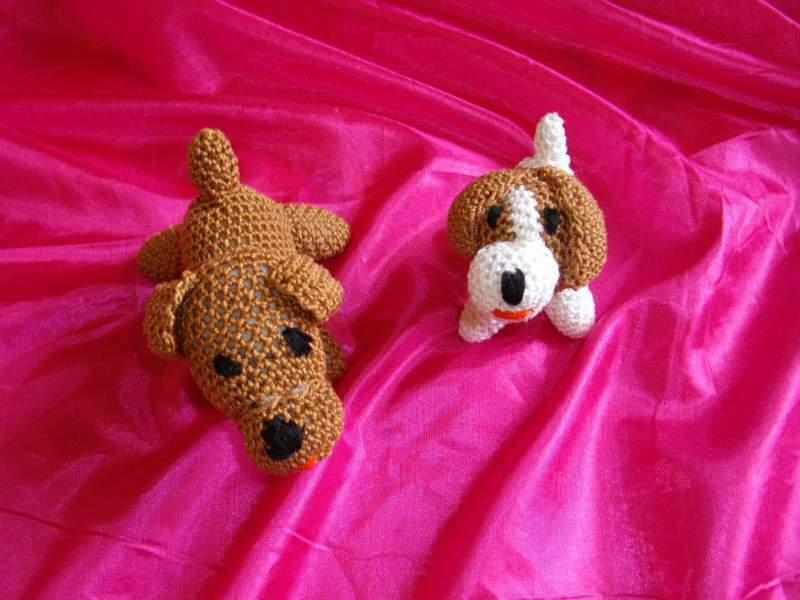 Peluches tricot