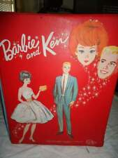 BEAUTCASEVintage Barbie and Ken Doll Carrying Case Mattel 1964