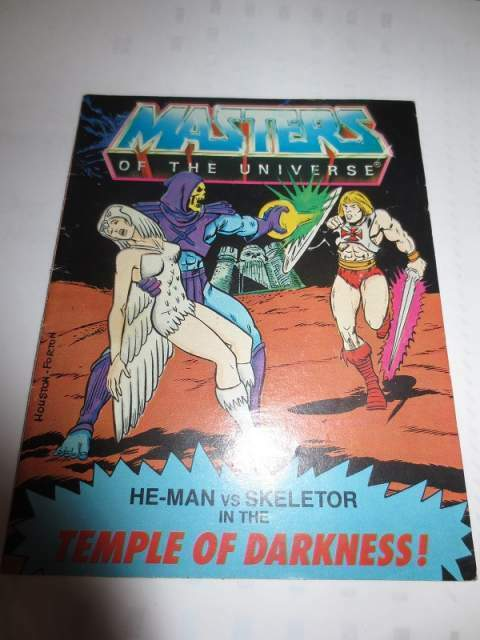 Motu minicomics temple of darkeness
