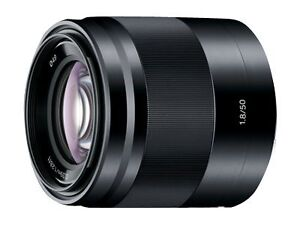 Sony-SEL50F18-B-50mm-f-1-8-Lens-for-NEX-Cameras-NEW-USA-Warranty-BLACK