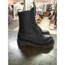 Anfibi donna dr martens 10 holes steel toe