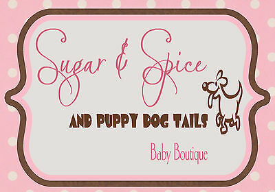 Sugar and Spice and Puppy Dog Tails