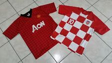 "Maglia Croatia+Manchester united sixe""M"" like new"