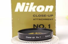 Nikon Close-up NO.0 / NO.1 d.52