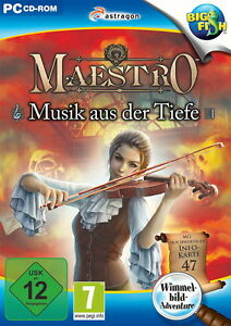 Maestro: Musik aus der Tiefe (PC, 2013, DVD-Box) - Deutschland - Maestro: Musik aus der Tiefe (PC, 2013, DVD-Box) - Deutschland