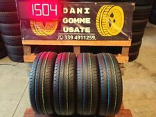 4 Gomme Usate 185 65 15 ESTIVE 70/85% GT RADIAL