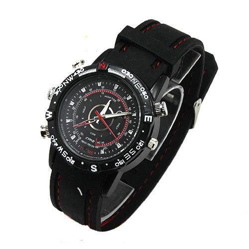 4 GB Waterproof Spy-Cam Watch