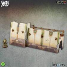 Infinity ColorED Miniature Gaming Model Kit 28 mm Bourak Outer Wall