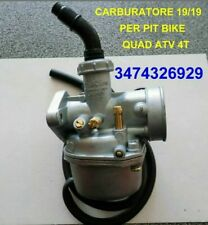 Carburatore 19 Per Quad ATV E Pit Bike 110cc 125cc 4T ATV QUAD
