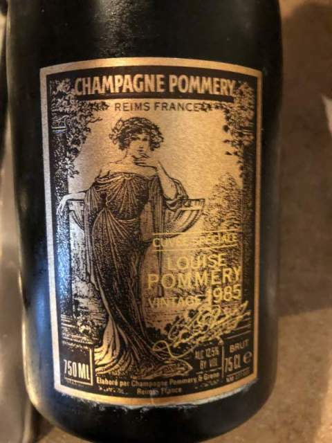 Champagne cuvee speciale Louise Pommery vintage 1985 2