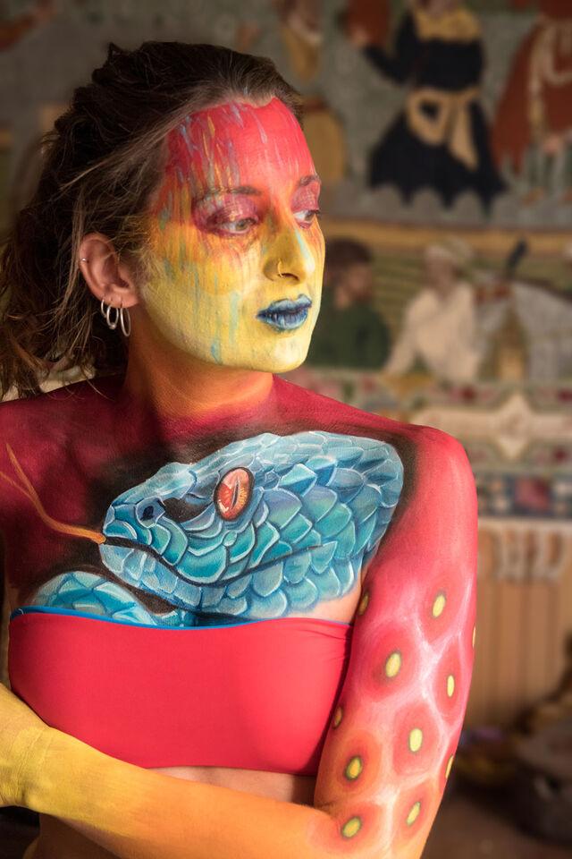 Bodypainting Makeup Artist MUA FX