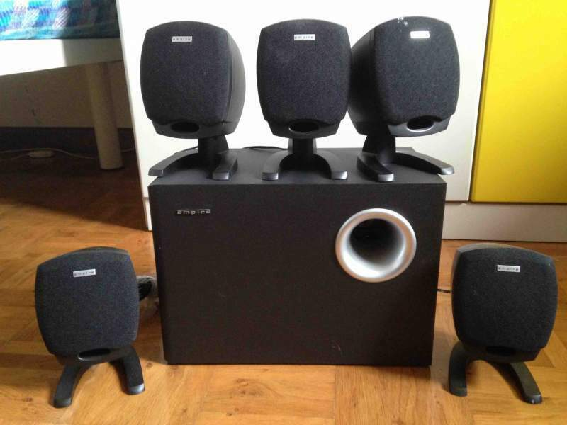 Sistema HOME THEATRE 5.1+subwoofer Empire